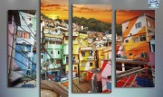 Background favela